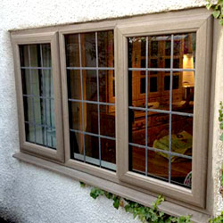 Bespoke Woodgrain Windows