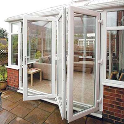 Bifold Doors in Conservatory