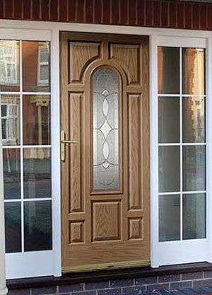 Crucifix Front Door